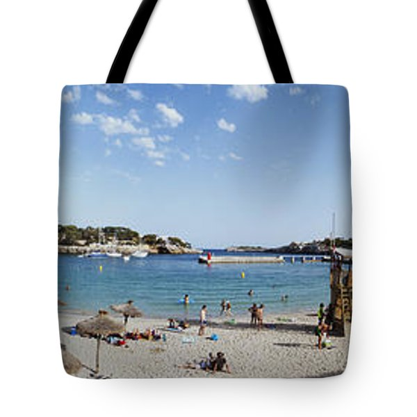 Porto Cristo Beach Tote Bag