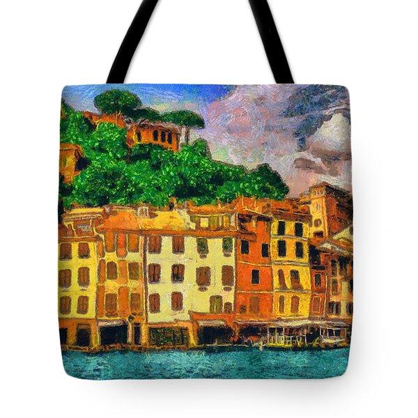 Portofino II Tote Bag by George Rossidis