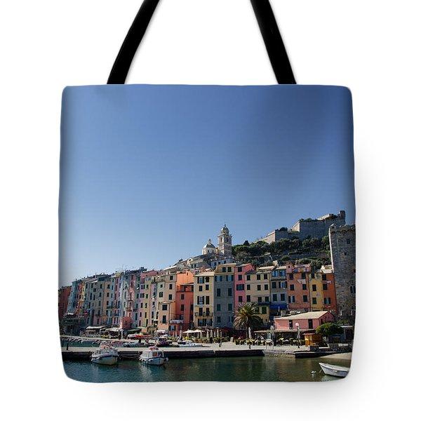 Portovenere Tote Bag by Mats Silvan