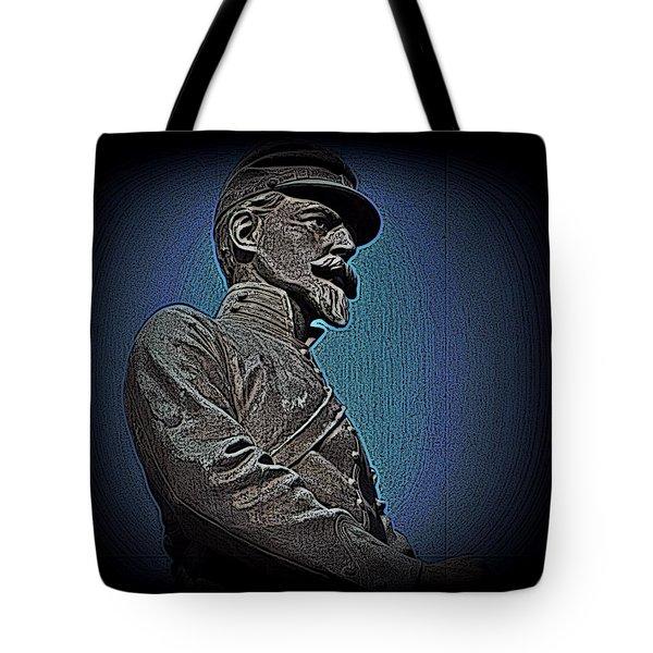 Portrait 29 American Civil War Tote Bag by David Dehner