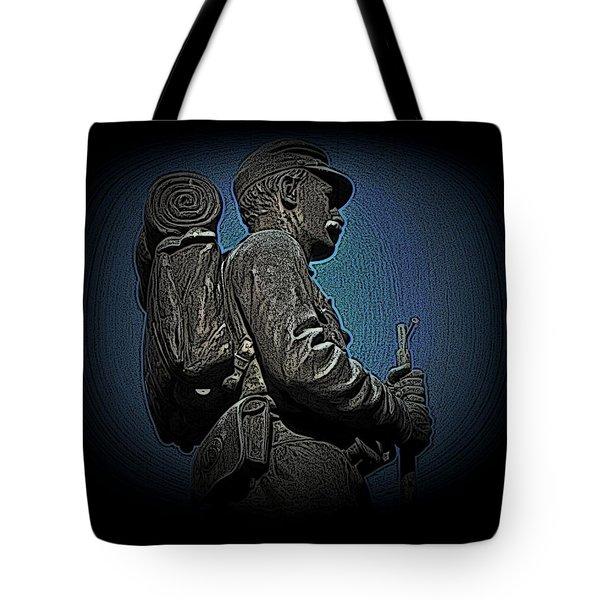Portrait 31 American Civil War Tote Bag by David Dehner