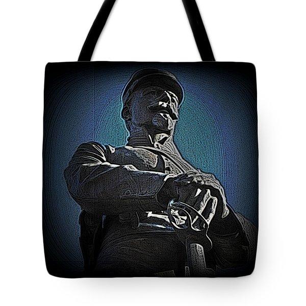 Portrait 36 American Civil War Tote Bag by David Dehner
