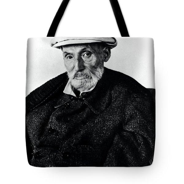 Portrait Of Renoir Tote Bag by Photo Researchers