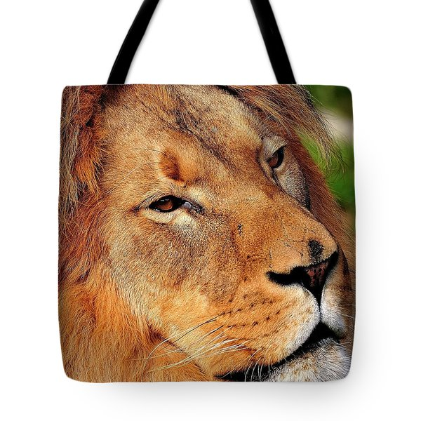 Portrait Of The King Tote Bag