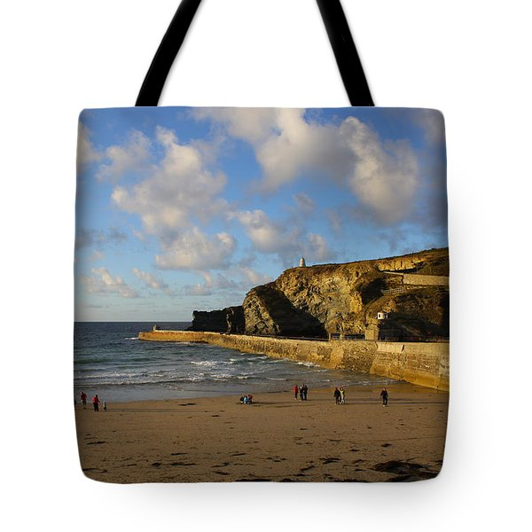 Portreath Beach Tote Bag