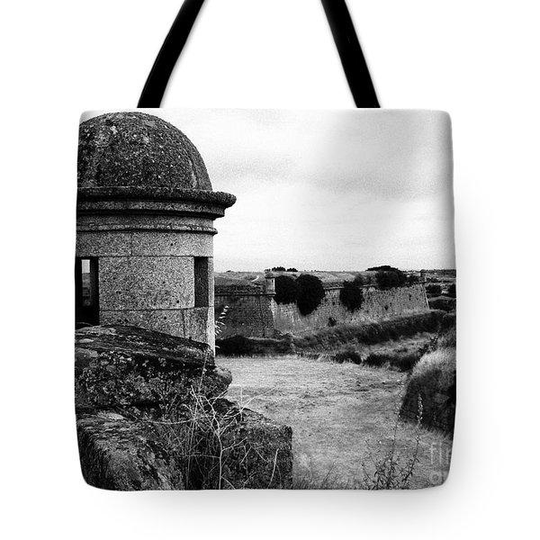 Portuguese Fortress Tote Bag by Gaspar Avila