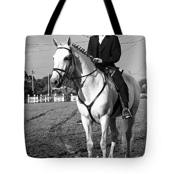 Portuguese Horse Rider Tote Bag by Gaspar Avila