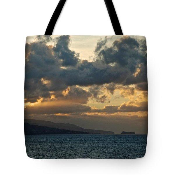 Portuguese Sunrise Tote Bag by Eric Tressler