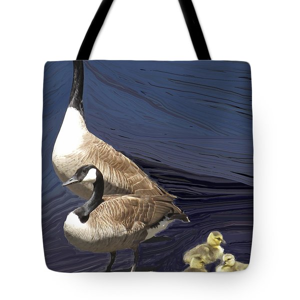 Posed Family Portrait Tote Bag by Ian  MacDonald