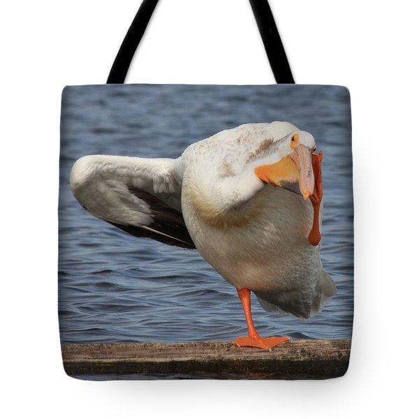 Poser Tote Bag