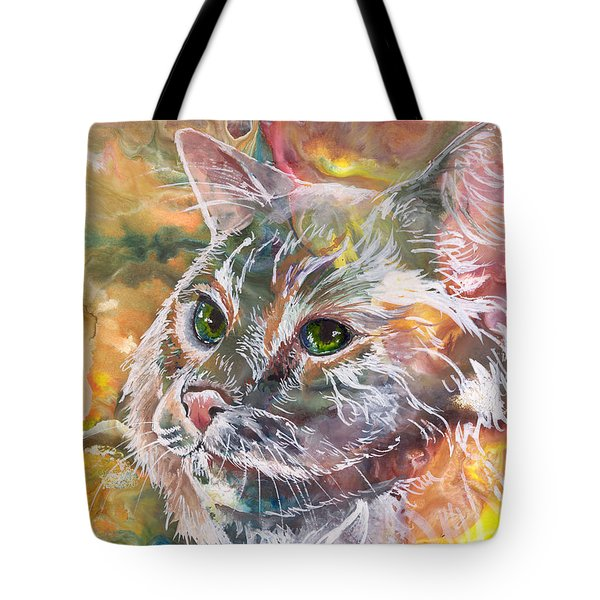 Posing Tote Bag by Sherry Shipley