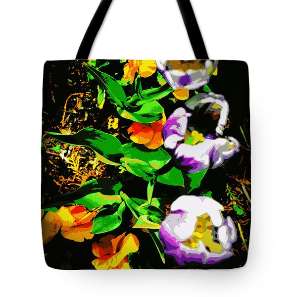 Poster Girls Tote Bag by Diane montana Jansson