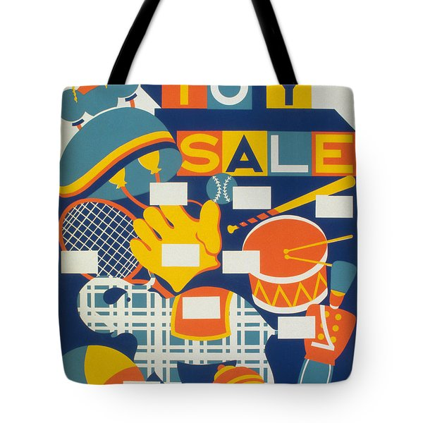 Poster: Toys, C1940 Tote Bag by Granger