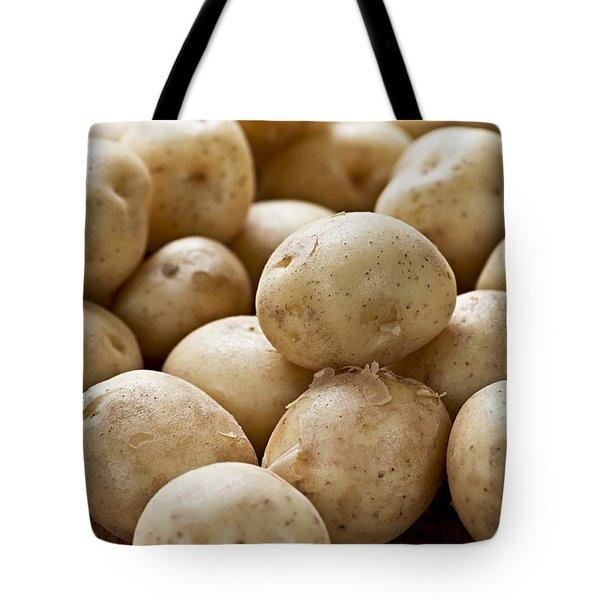 Potatoes Tote Bag by Elena Elisseeva