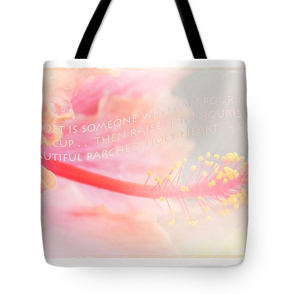 Pouring Light Tote Bag