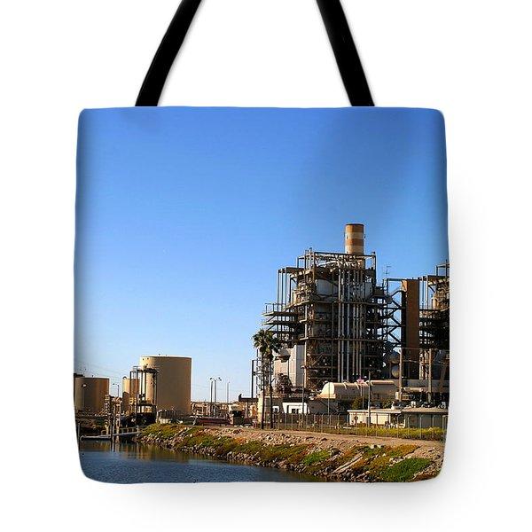 Power Plant Tote Bag by Henrik Lehnerer