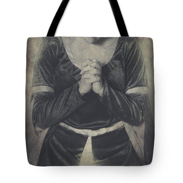 Prayer Tote Bag by Joana Kruse