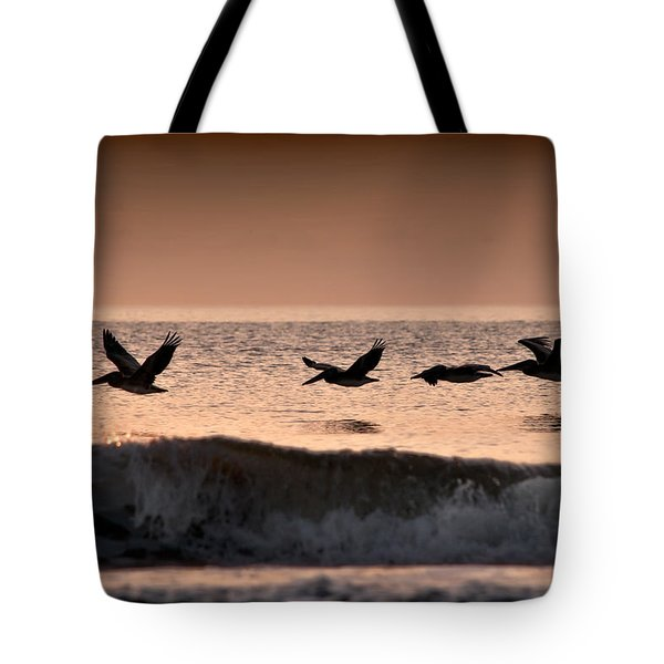 Predawn Formation Tote Bag