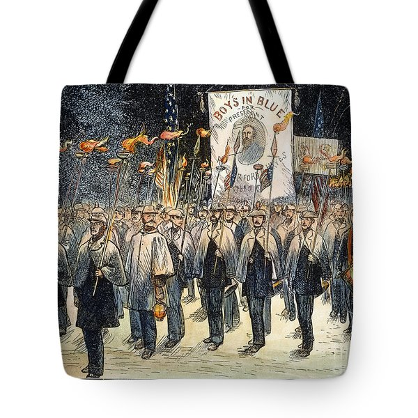 Pres. Campaign, 1876 Tote Bag by Granger