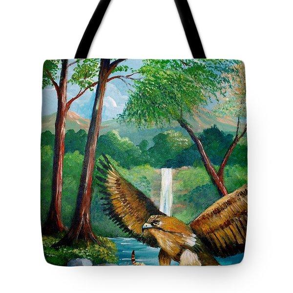 Presa Atrapada Tote Bag