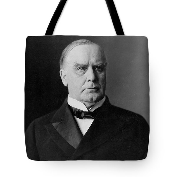 President William Mckinley Tote Bag by International  Images