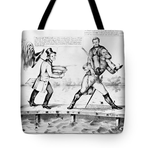 Presidential Campaign, 1852 Tote Bag by Granger