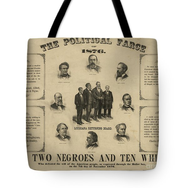 Presidential Election, 1876 Tote Bag by Granger