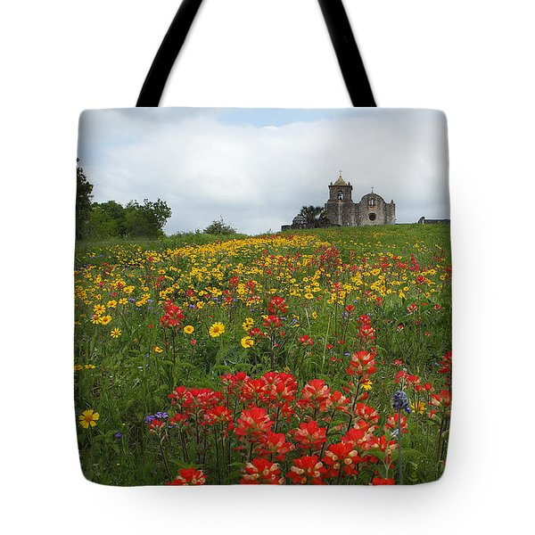 Tote Bag featuring the photograph Presidio La Bahia 1 by Susan Rovira