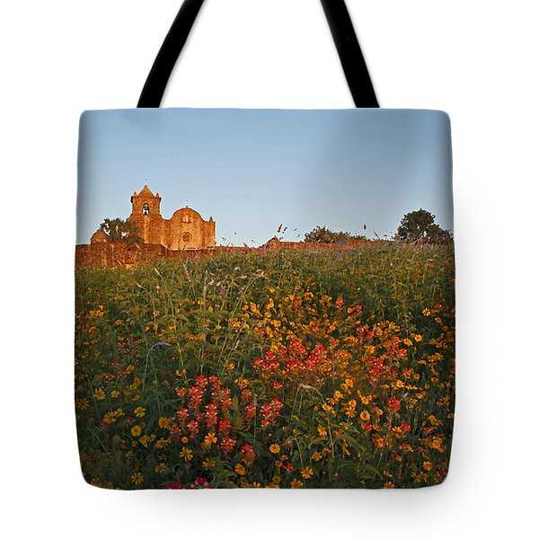Tote Bag featuring the photograph Presidio La Bahia 3 by Susan Rovira
