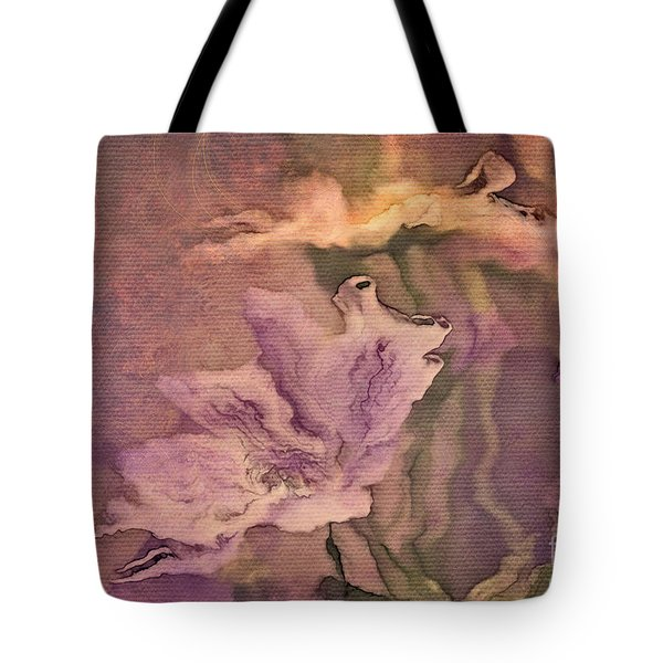 Pretty Bouquet - A04t4b Tote Bag by Variance Collections