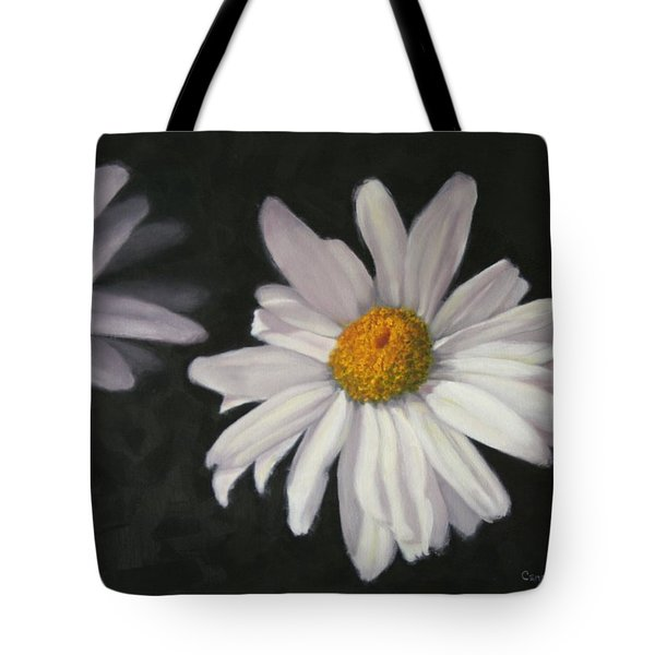 Pretty Daisy Tote Bag by Candy Prather