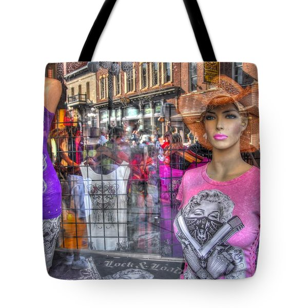 Pretty Pink And Dangerous Tote Bag