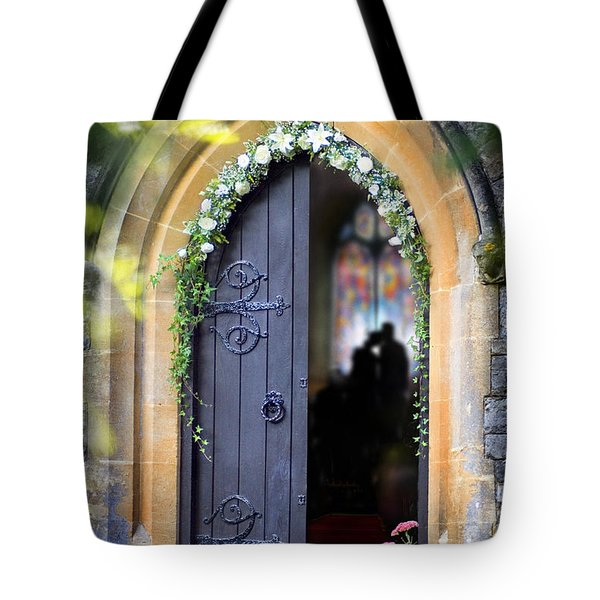 Pretty Portal  Tote Bag by Richard Piper