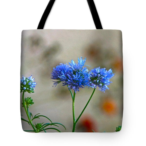 Pretty Weeds Tote Bag by Byron Varvarigos
