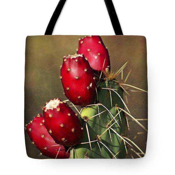 Prickley Pear Fruit Tote Bag