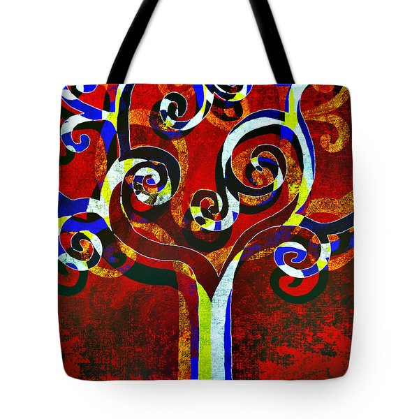 Primary Tote Bag by Angelina Vick