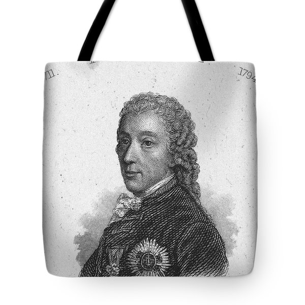 Prince Of Kaunitz-rietberg Tote Bag by Granger