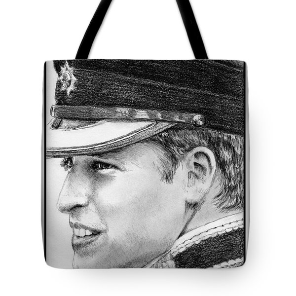 Prince William In 2011 Tote Bag by J McCombie