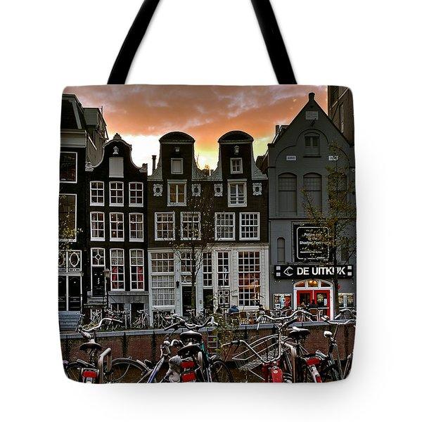 Prinsengracht 458. Amsterdam Tote Bag