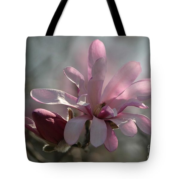 Pristine Pastels Tote Bag by Living Color Photography Lorraine Lynch