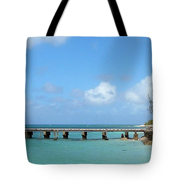 Private Dock Tote Bag