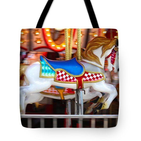 Tote Bag featuring the photograph Prized Stallion by Patrick Witz