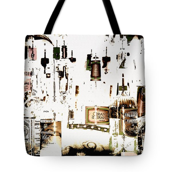 Prohibition  Era Tote Bag by Elaine Manley