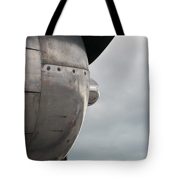 Prop In Sky Tote Bag by Randy J Heath