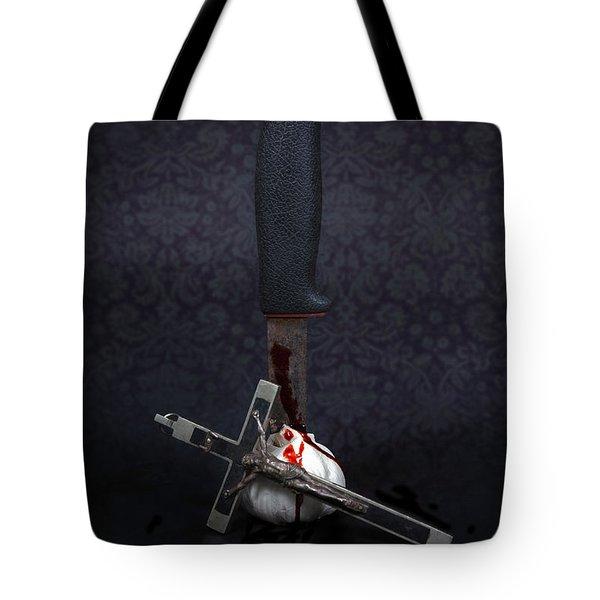 Protection Against Vampires Tote Bag by Joana Kruse