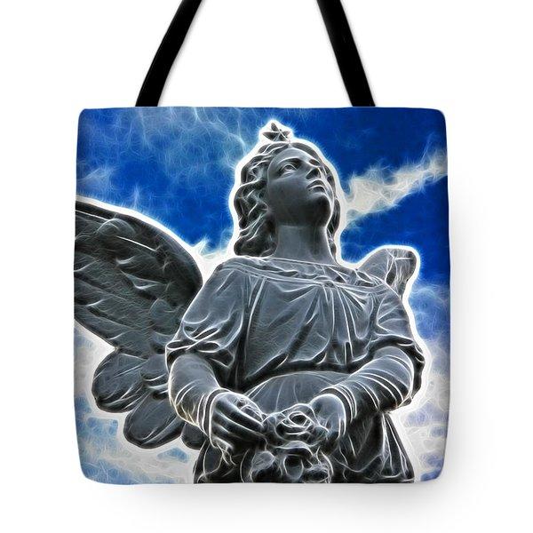 Protector Tote Bag by Mariola Bitner