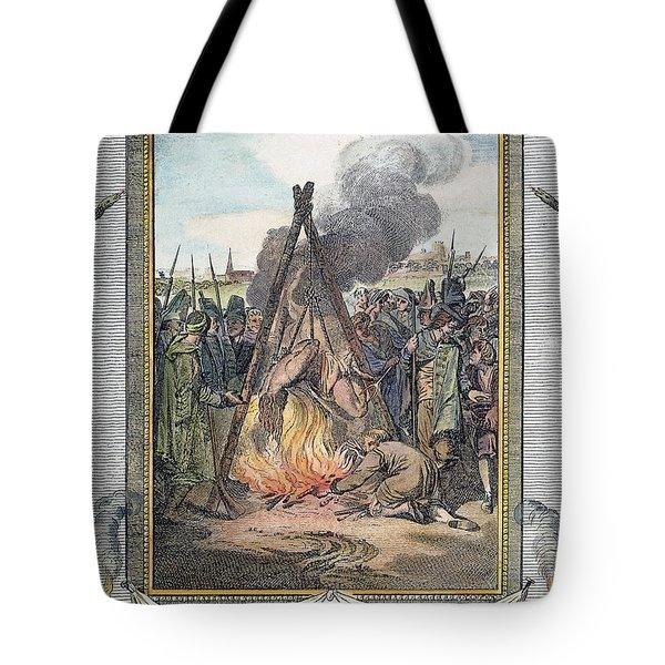 Protestant Martyrs, 1563 Tote Bag by Granger