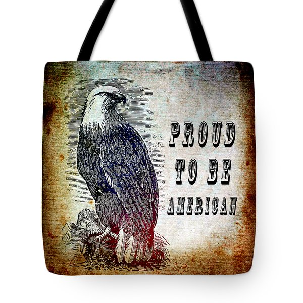 Proud Tote Bag by Angelina Vick