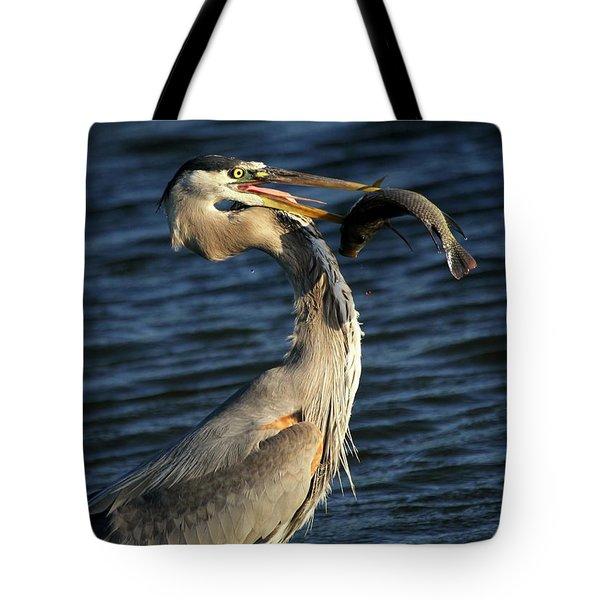 Proud Fisherman Tote Bag by Sabrina L Ryan