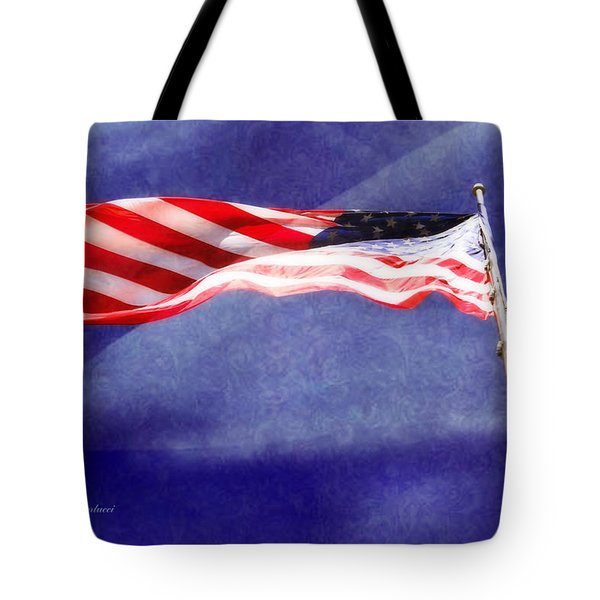 Tote Bag featuring the photograph Proud by Joan Bertucci
